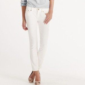 J. Crew Jeans Toothpick Skinny 28 Ankle White